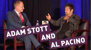 Adam Stott and Al Pacino  stott-pacino-new stott pacino new 300x167
