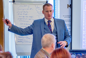 Courses and Events speaker training 1