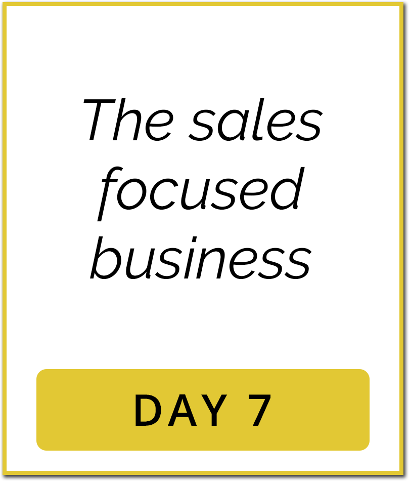 1M Sales System Content Day7