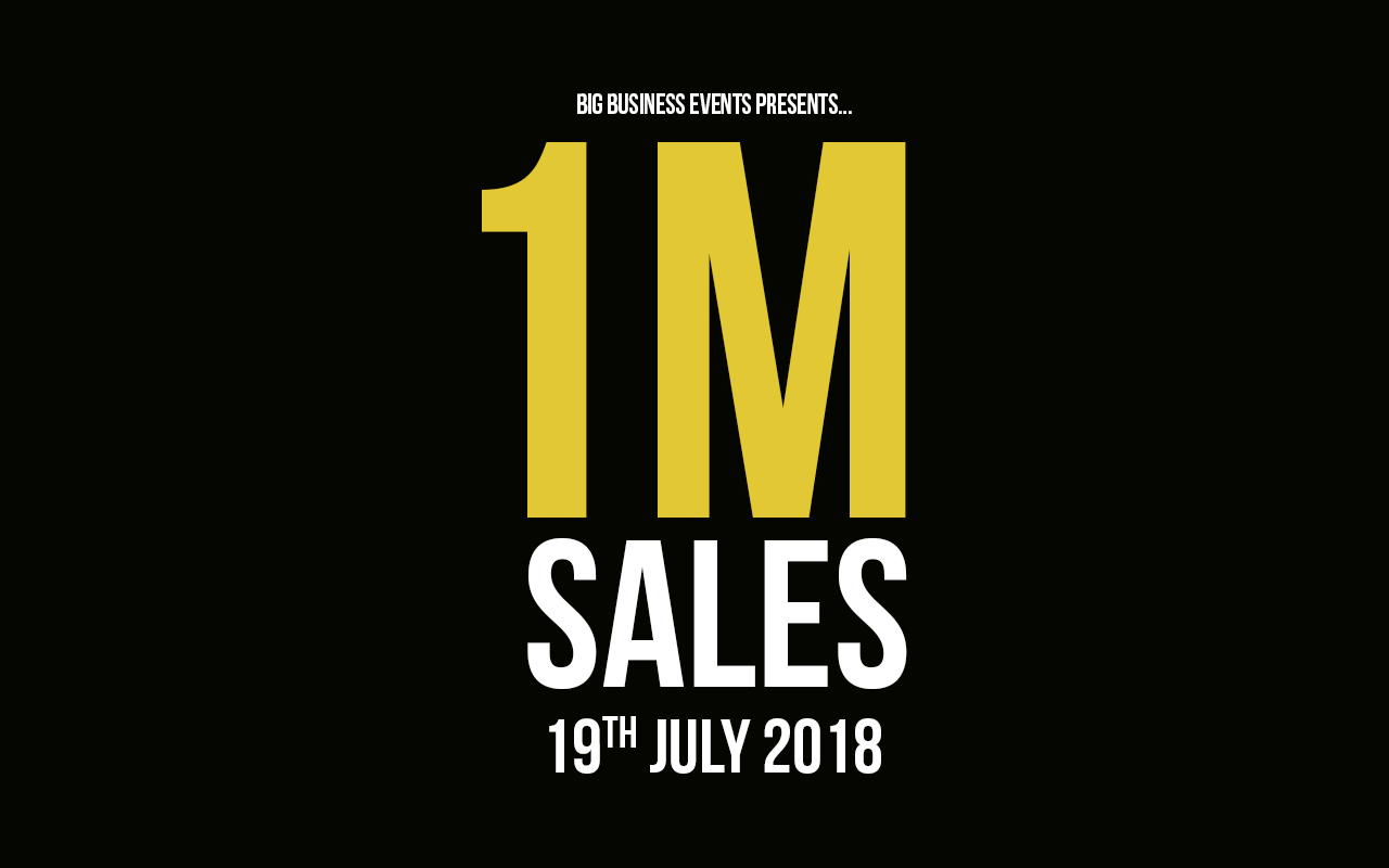 1M Sales  1M Sales 1M Sales 19 07 18 Web Event  Sales Domination 1M Sales 19 07 18 Web Event