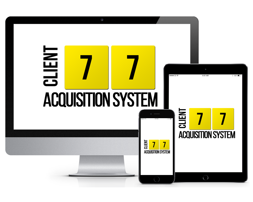 Inner Circle Online Training Portal 7 7 Client Aquisition System iMac iPad iPhone