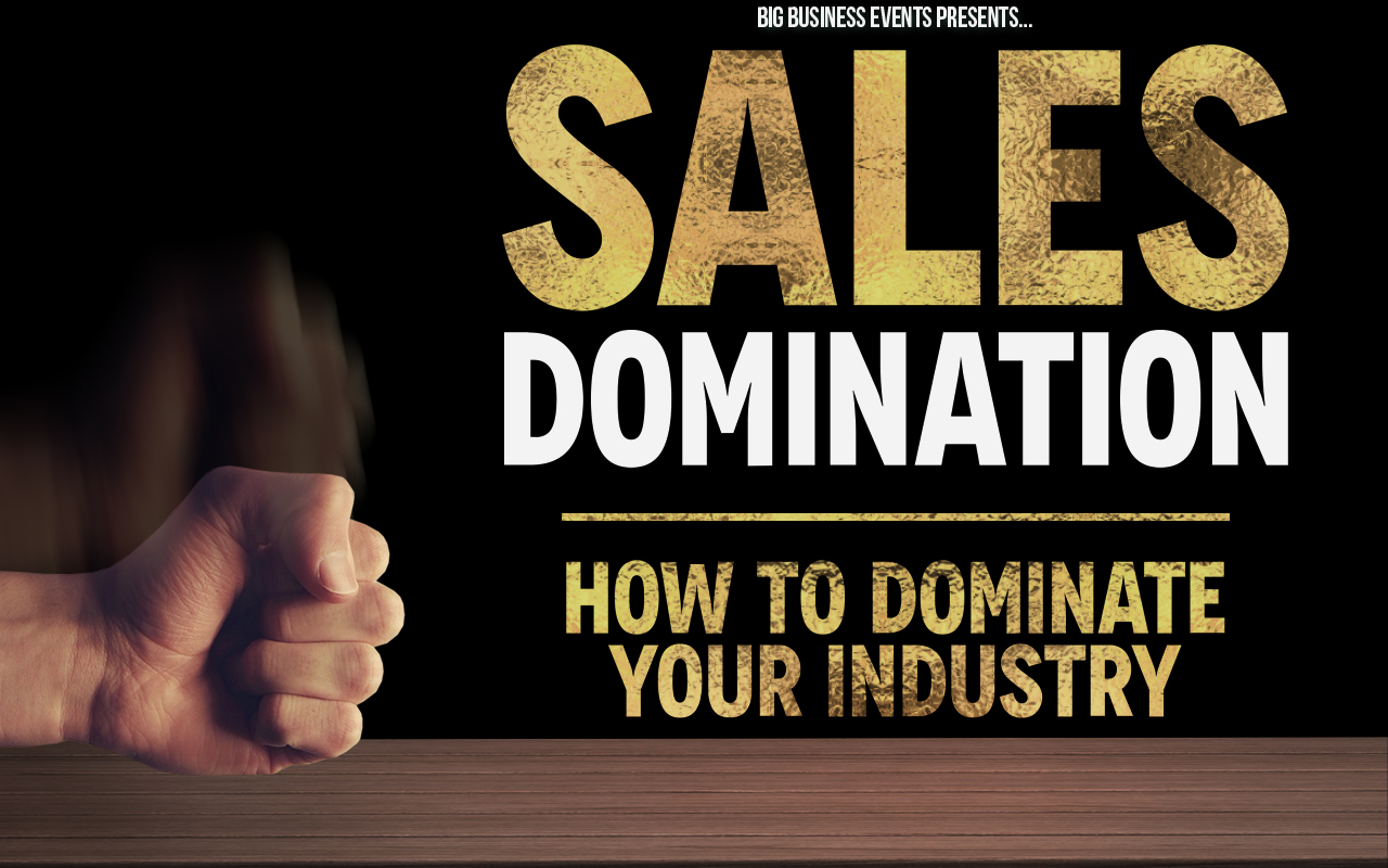 Sales Dom - Sept - Web Event  Sales Domination Sales Dom Sept Web Event  Sales Domination Sales Dom Sept Web Event