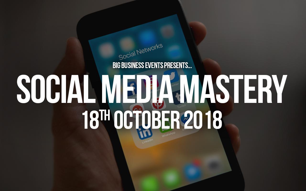 Social Media Mastery  Social Media Mastery Social Media Mastery 18 10 18 Web Event