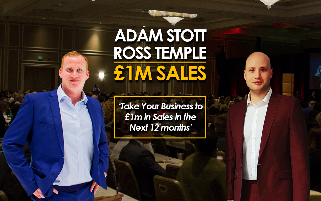 1M Sales – More Leads, More Sales, More Profit adam ross web event