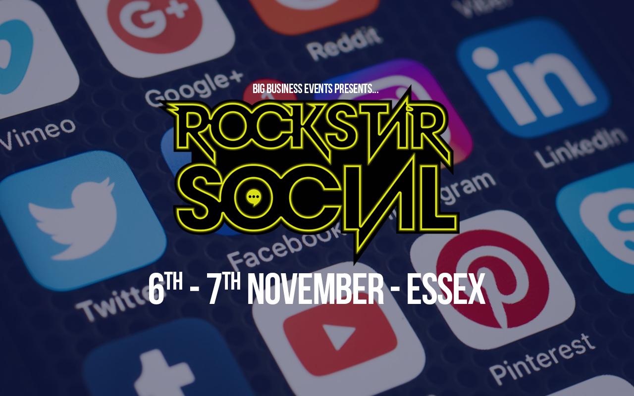 Rockstar Social - Social Media Event in November  Rockstar Social Rockstar Social November Web Event
