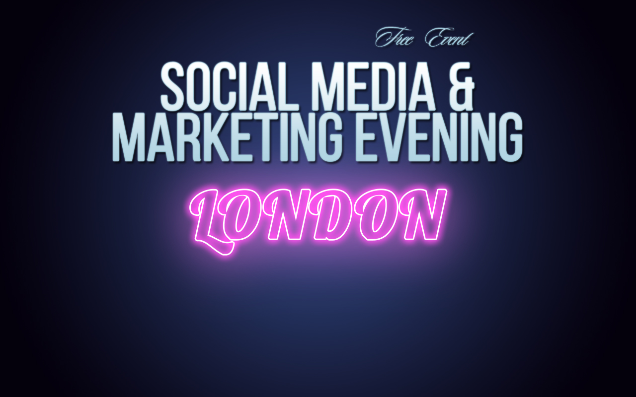 Social Media Marketing Preview Evening  Social Media and Marketing Evening (London) Soc Med Marketing London Preview Pink Web Event 1