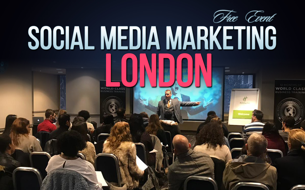 Social Media Marketing – Free Event Soc Med Marketing London 1