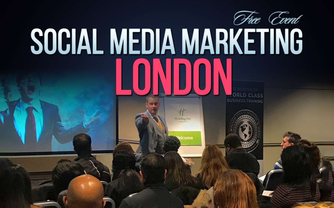 Social Media Marketing – Free Event Soc Med Marketing London  Social Media Marketing – Free Event Soc Med Marketing London
