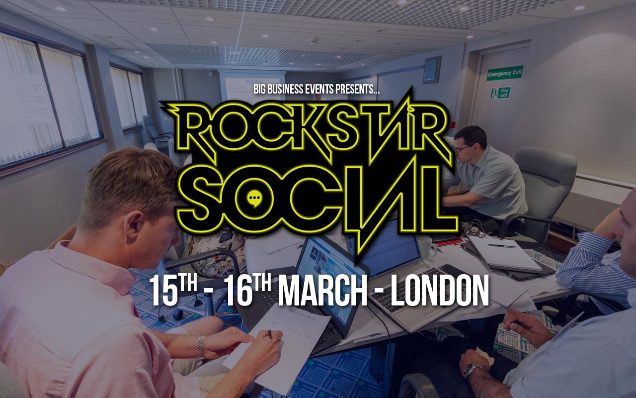 Rockstar Social Rockstar Social March Web Event  Social Media Domination – 3 Day Course Rockstar Social March Web Event