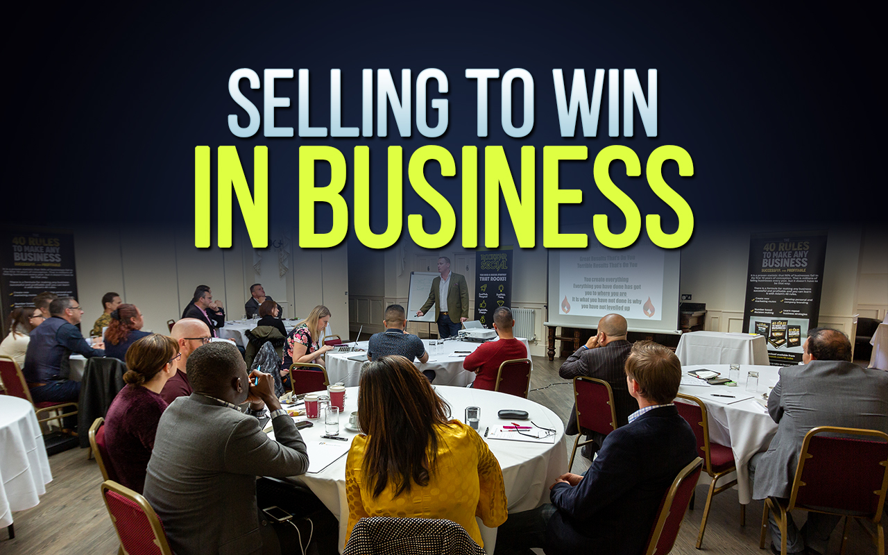 Selling to Win in Business Selling to win in business  Home Selling to win in business