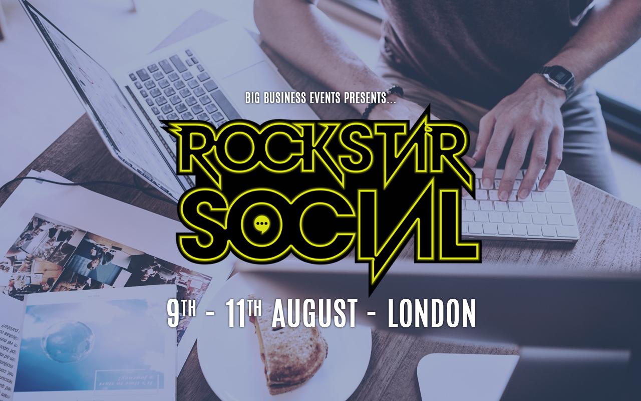 Rockstar Social Rockstar London 9th August 2019