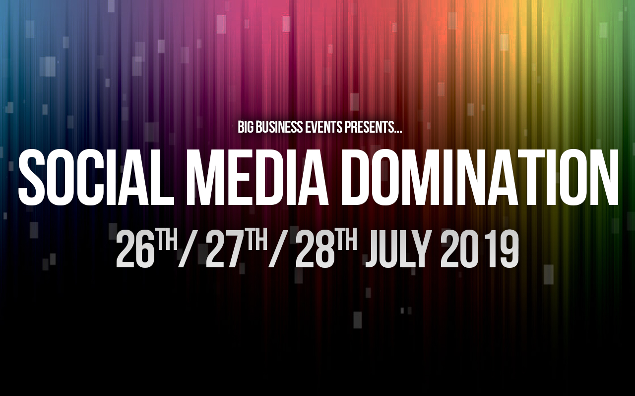 Social Media Domination – 3 Day Course SMD 26th July  Home SMD 26th July