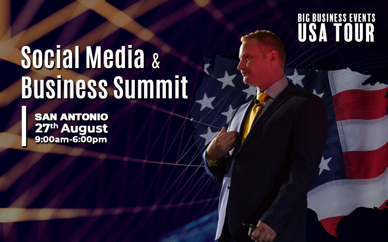 Social Media & Business Summit – San Antonio August Tour USA 27th 1