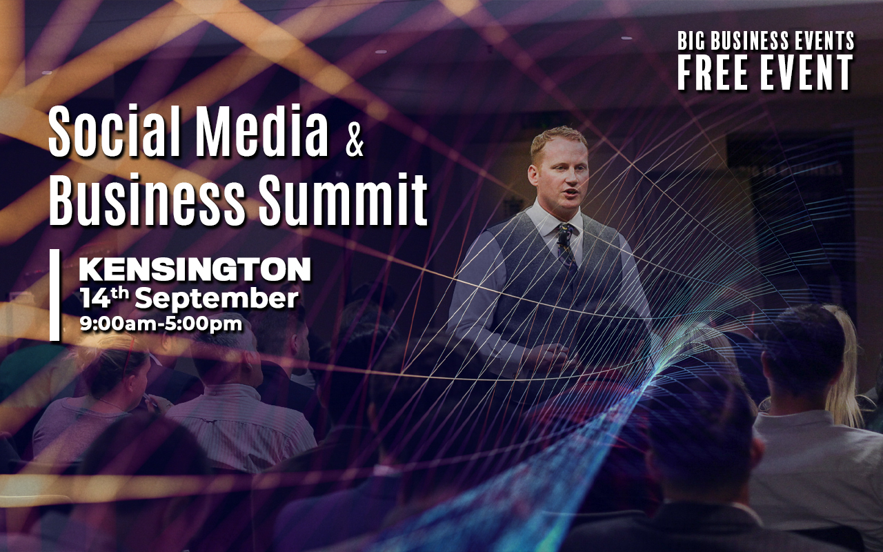Social Media and Business Summit smbs london 14th september 2019
